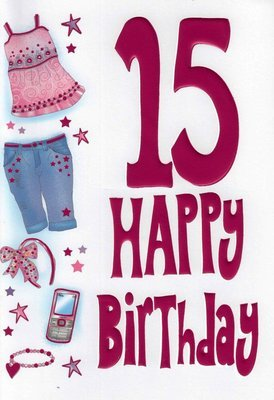 Selective girls special age 15 happy 15th birthday card girl selective girls special age 15 happy 15th birthday card girl teenager teens ages cards bookmarktalkfo Gallery