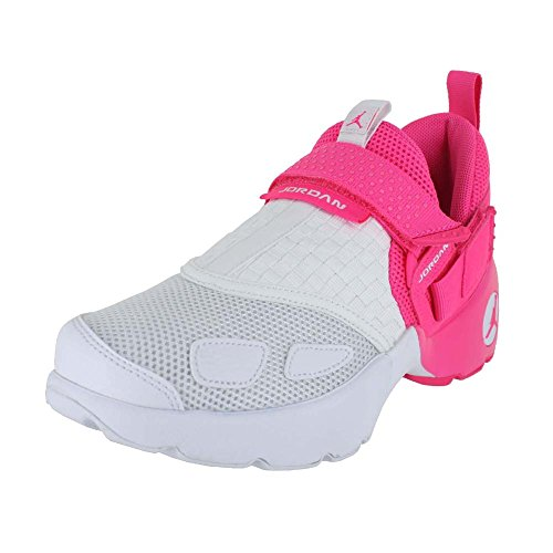 JORDAN KIDS JORDAN TRUNNER LX (GG) SHOES HYPER PINK WHITE SIZE 9