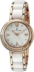 Christian Van Sant Women's CV7612 Analog Display Quartz Two Tone Watch