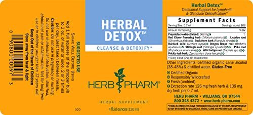 Herb Pharm Liquid Herbal Detox Formula for Cleansing and Detoxification - 4 Ounce by Herb Pharm (Image #1)