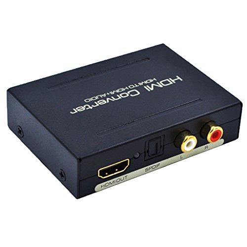 Dovewill HDMI Extractor de Audio Divisor de Audio Digital de Dispositivo de Fuente HDMI