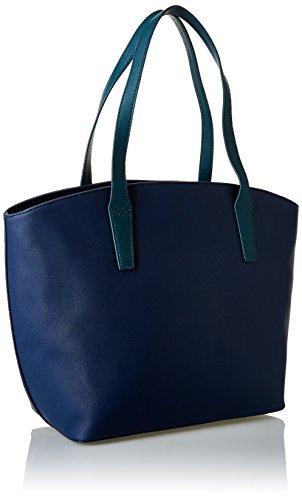 Bag Sintetica Blu verde Jeans Donna Shopping Trussardi Pelle Borsa Tote zEdUnn8xqY