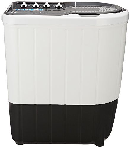 Whirlpool 7 kg Semi-Automatic Top Loading Washing Machine (Superb Atom 70S, Grey)