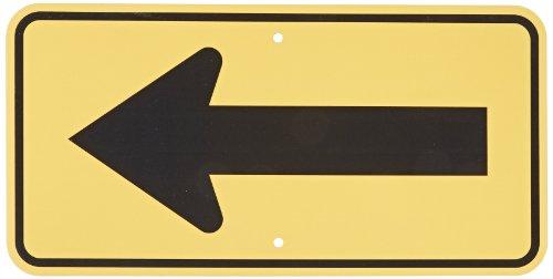 SmartSign MUTCD # W1-6R 3M Engineer Grade Reflective Sign,