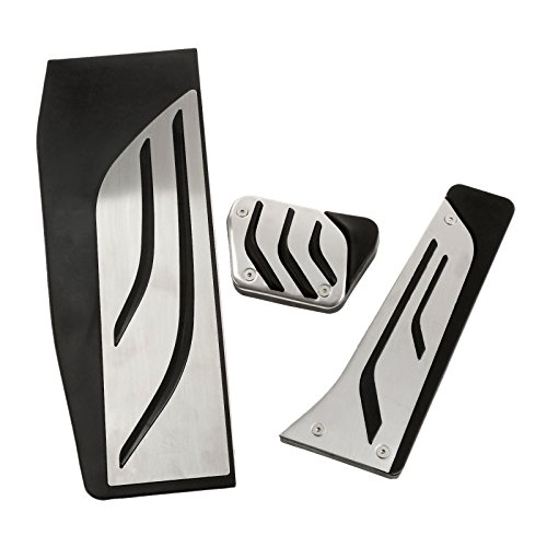 Lhd Pedal Set - Mtsooning 3 Pcs/Set Pedals Performance Stainless Steel Foot Rest Pedal Cover Set For BMW 1 3 4 Series F20 F30 F31 F32 F33 F34 F36