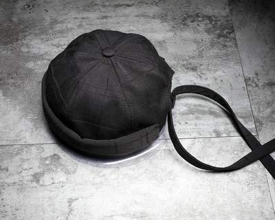 FUWUX Home Cappello del Padrone di casa, Uomini e Donne Carini, Berretto Primaverile e Autunnale, Estate (Colore   nero)
