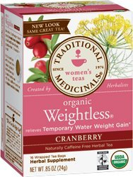WEIGHTLESS® CRANBERRY 16 Tea Bags by Traditional Medicinals