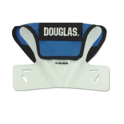 Douglas Football Butterfly Restrictor Cowboy Collar, Attach to Shoulder Pads (Youth Collar Football Cowboy)