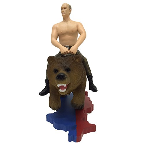 Putin Na Medvede (Putin On Bear) - Action Figure / Decorative Statue of Vladimir