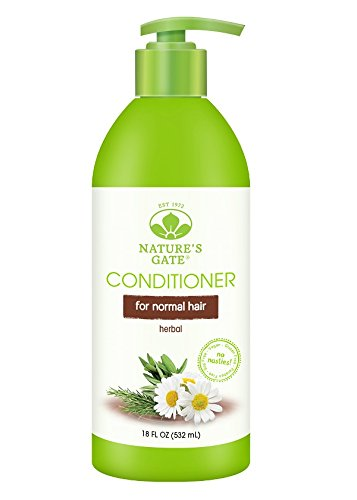 Nature's Gate Natural Herbal Daily Cleansing Conditioner with Jojoba Oil for Normal Hair, Vegan, Non GMO, Paraben Free, Gluten Free, Soy Free… Natures Gate Chamomile