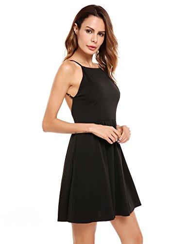 軽蔑サラミ試すBeyove DRESS レディース カラー: ブラック
