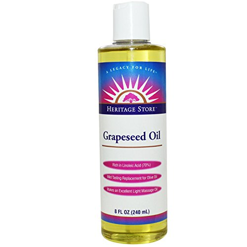 Heritage Products, Grapeseed Oil, 8 fl oz (240 ml) - 2pc by Heritage Products