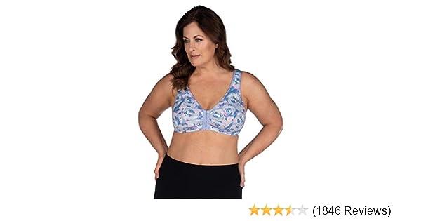 8c4b223593ef7 Leading Lady Women s Plus Size Sleep Leisure Cotton Bra at Amazon Women s  Clothing store  Bras