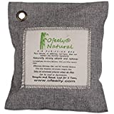 Ofeely Air Purifying Bag 200g Natural Bamboo Charcoal Deodorizer Naturally Removes Odor,Allergens and Harmful Pollutants (Light Grey)
