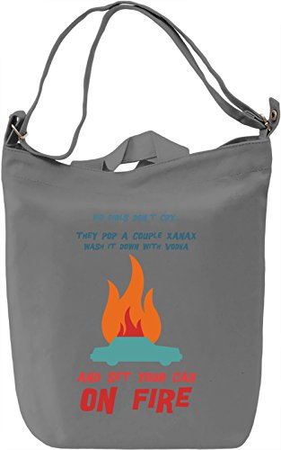 Big girls don't cry Borsa Giornaliera Canvas Canvas Day Bag| 100% Premium Cotton Canvas| DTG Printing|
