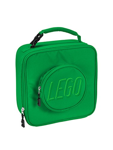 - LEGO Kids Brick Lunch Backpack, Green, One Size