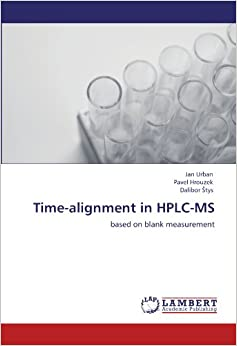 Time-alignment in HPLC-MS: based on blank measurement