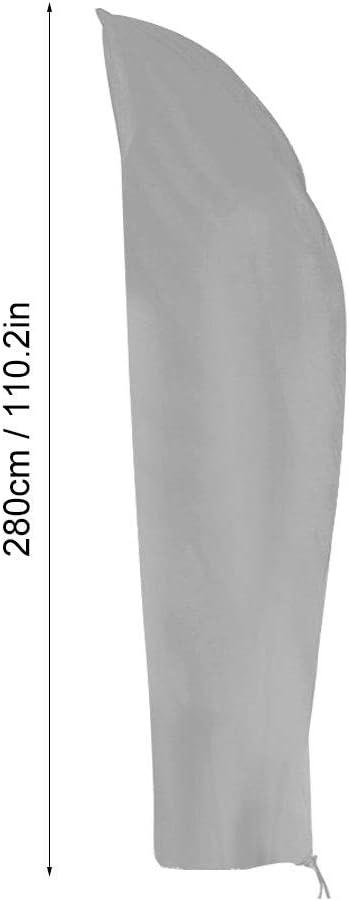 Beige Beige per Esterno Facile da smontare e Copertura del Parasole del Giardino di Oxford Regolabile per la casa Grigia Opzionale Copertura Resistente del baldacchino ombrelloni