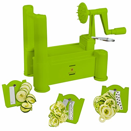 Brieftons Tri Blade Spiralizer Strongest Heaviest product image