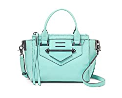 Botkier Dylan Small Satchel in Soft (Mint) Blue (15S0862)