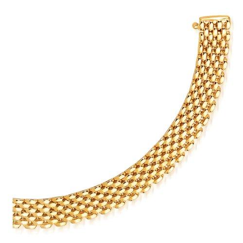 LIOR - Bracelet Or jaune 585/1000
