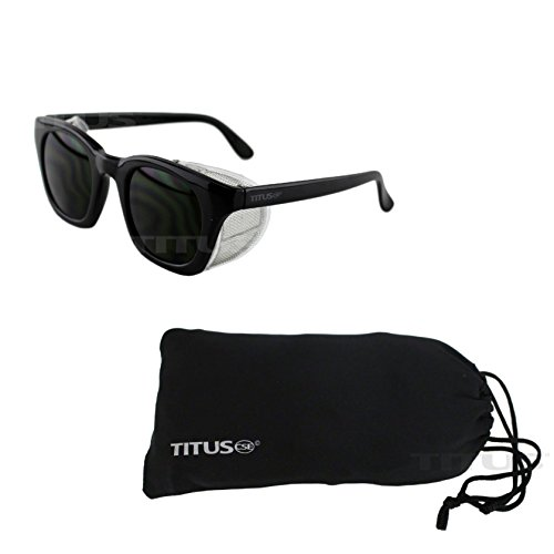 Titus Retro Style IR Welding Safety Glasses (W/ Pouch, IR - Sunglass Coupon Rage