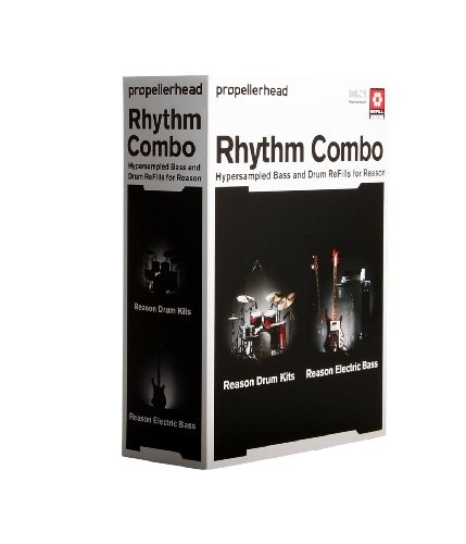 Propellerhead Reason Drum Kits - Propellerhead Rhythm Combo (Reason Drum Kits & Electric Bass ReFill Bundle)