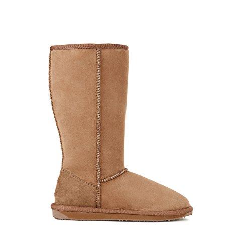 EMU Australia Womens Stinger Hi Winter Real Sheepskin Boots Size 8 (Emu Bronte High Boots)