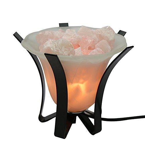 - Yogavni Rose Quartz Tranquility Lamp