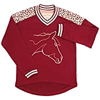 Horseware Girls Sweatshirt Wine -5-6yrs