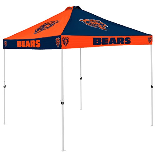 NFL Chicago Bears Checkerboard Tent Checkerboard Tent, Navy, One Size by Logo Brands