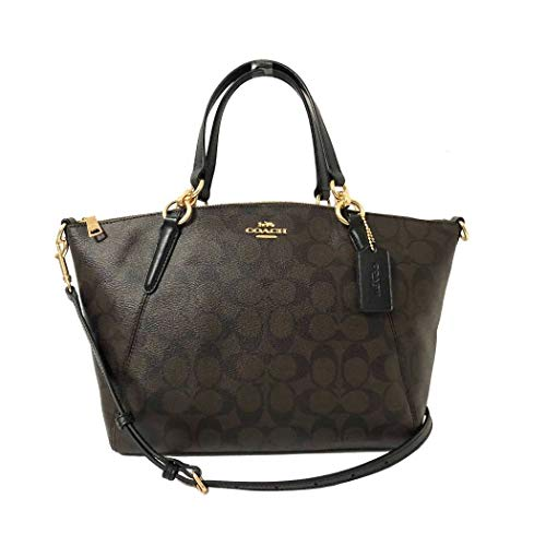 Bag Large Coach - Coach Women's Small Kelsey Satchel No Size (IM/Brown/Black)