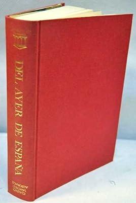 Del ayer de España. Trípticos históricos. Prólogo homenaje a Sánchez Albornoz...: Amazon.es: SÁNCHEZ ALBORNOZ, Claudio.-: Libros