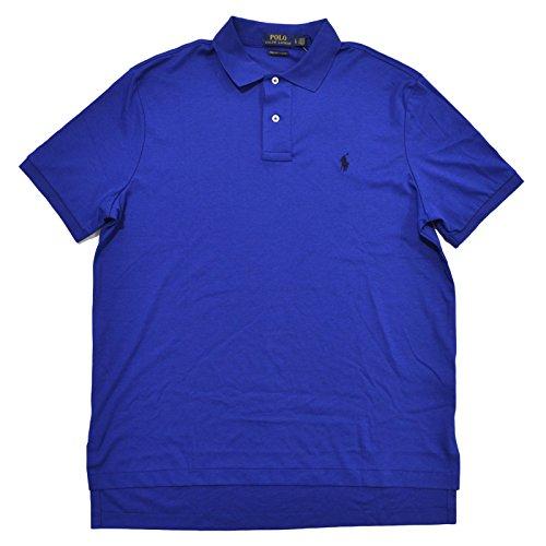 Polo Ralph Lauren Mens Pima Soft Touch Interlock Polo Shirt