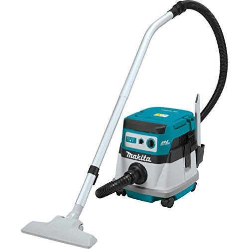 Makita XCV06Z 18V X2 LXT Lithium-Ion Brushless Cordless 2.1 gallon Wet/Dry Dust Extractor/Vacuum – Tool Only