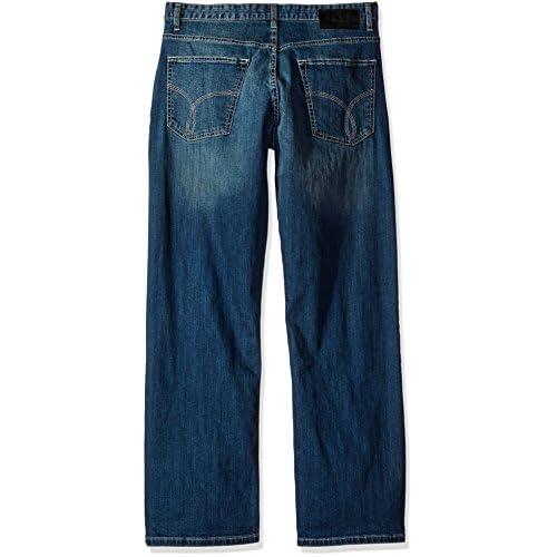 XQS Mens Straight Leg Pencil Multi-Zipper Pu Leather Flat-Front Chino Pants