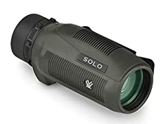 Vortex Solo 10x36 mm monocular. Compact, lightweight and easy - to - handle unit delivers clear, bright images! Courtesy of a premium roof prism and fully multi-coated glass surfaces! Built to be carried as a standard piece of equipment, clos...