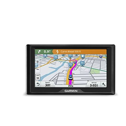 Garmin Drive 60 USA LM GPS Navigator System with Lifetime Maps, Spoken Turn-By-Turn Directions, Direct Access, Driver Alerts, and Foursquare Data (Renewed)