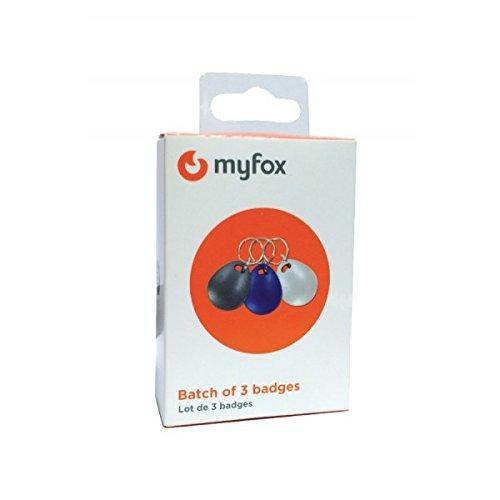 Badges supplémentaires MyFox, boite de 3.: Amazon.es: Bricolaje y herramientas