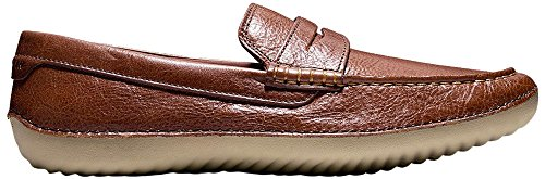 Cole Haan Hommes Motogrand Penny Mocassins Woodbury Cuir