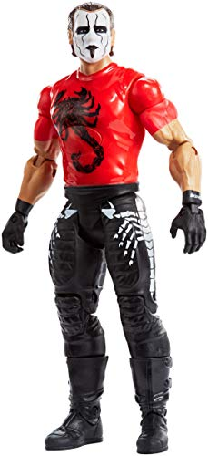 WWE Tough Talkers Total Tag Team Sting Action Figure ()