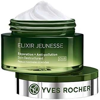 Yves Rocher Elixir Jeunesse Repair+Anti Pollution Cream 50ml./1.6 fl.oz.