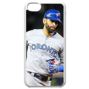 MLB Iphone 5C White Toronto Blue Jays cell phone cases&Gift Holiday&Christmas Gifts NBGH6C9125984