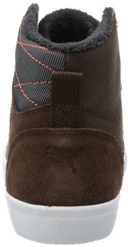 Puma Tipton Winter - Zapatilla alta de cuero hombre marrón - Braun (chocolate brown-cherry tomato 01)