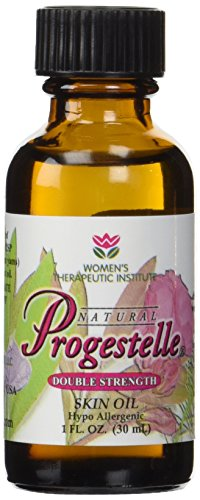 2 Bottles of Progestelle Progesterone Oil Purer Than Progesterone Cream, Bioidentical, Natural, Topical - NO Preservatives, NO Fragrance, NO Emulsifiers and Booklet- 1oz 800 mg/oz Double - Glasses 800 1