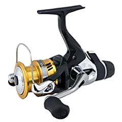 Shimano Sahara R spinning reels feature a cold forged spool making these reels super durable. They also have a super smooth drag system with fightin' drag. This fightin' drag allows the angler to quickly get back to the original drag setting ...