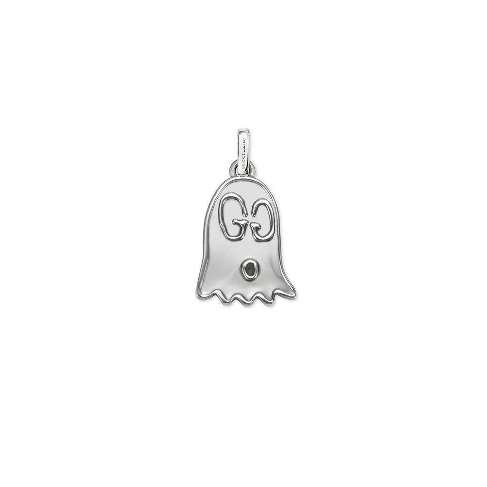 Gucci Silver Charm Ghost aureco YBG45527100100U