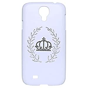 Samsung Galaxy S4 Crown Back Cover - White