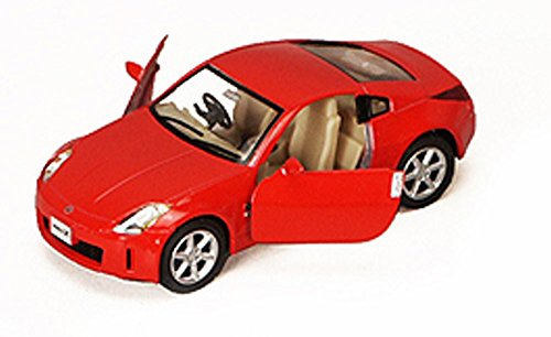New Nissan 350z - Nissan Fairlady 350Z, Red - Kinsmart 5061D - 1/34 scale Diecast Model Toy Car (Brand New, but NO BOX)