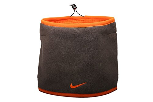 Nike Unisex Reversible Neck Warmer, Orange-Brown